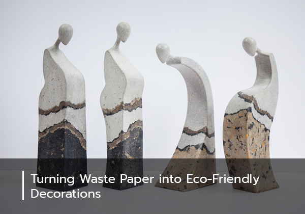 Turning Waste Paper into Eco-Friendly Decorations